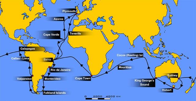 ビーグル号の航海